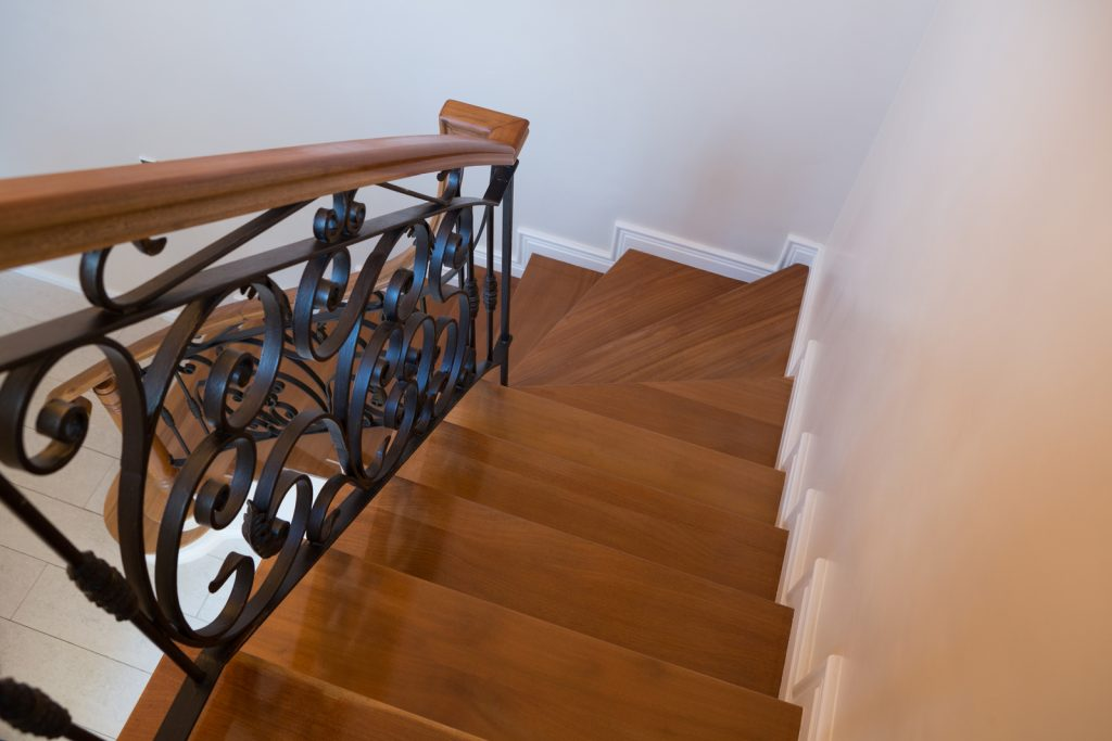 a nice looking stairs